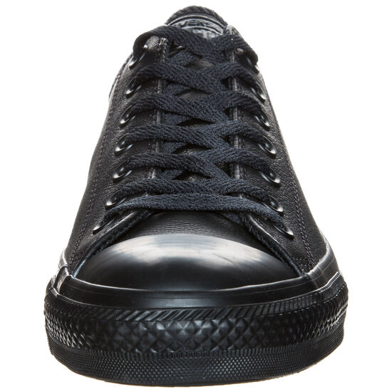 Chuck Taylor All Star Core OX Leather Sneaker, Schwarz, zoom bei OUTFITTER Online