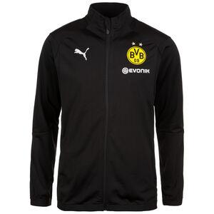 Borussia Dortmund Poly Trainingsjacke Herren, Schwarz, zoom bei OUTFITTER Online