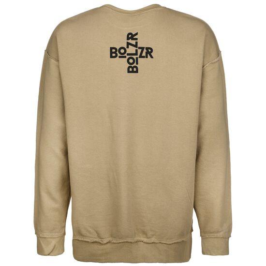 Oversized Sweatshirt Herren, beige / schwarz, zoom bei OUTFITTER Online