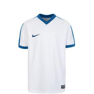 Striker IV Fußballtrikot Kinder, weiß / blau, zoom bei OUTFITTER Online