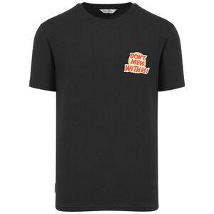 Cartoon T-Shirt Herren, schwarz / rot, zoom bei OUTFITTER Online