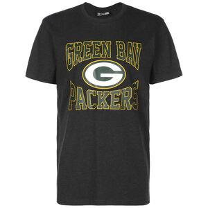 NFL Green Bay Packers Logo T-Shirt Herren, grau / grün, zoom bei OUTFITTER Online