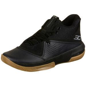 SC 3Zero IV Basketballschuh Herren, schwarz / braun, zoom bei OUTFITTER Online