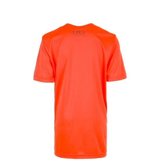 HeatGear Tech Big Logo Solid Trainingsshirt Kinder, Rot, zoom bei OUTFITTER Online