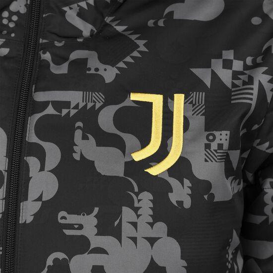 Juventus Turin Chinese New Year Padded Jacke Herren, schwarz / gelb, zoom bei OUTFITTER Online