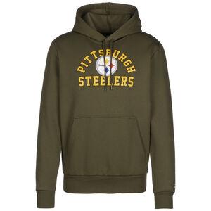 NFL Pittsburgh Steelers Wordmark Kapuzenpullover Herren, oliv, zoom bei OUTFITTER Online