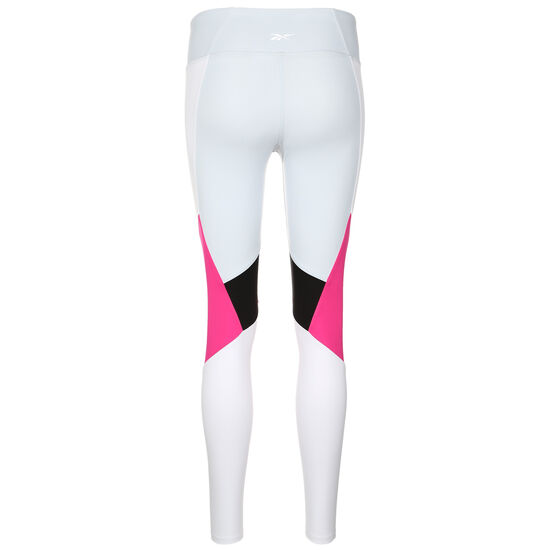 Lux Colorblock 2.0 Trainingstight Damen, hellgrau / pink, zoom bei OUTFITTER Online
