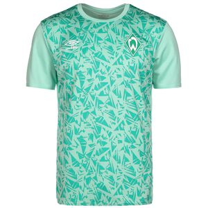 SV Werder Bremen Warm Up Trainingsshirt Herren, hellgrün / grün, zoom bei OUTFITTER Online