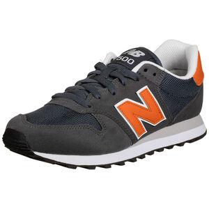500 Sneaker Herren, dunkelgrau / orange, zoom bei OUTFITTER Online