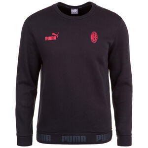 AC Mailand FtblCulture Sweatshirt Herren, schwarz / rot, zoom bei OUTFITTER Online