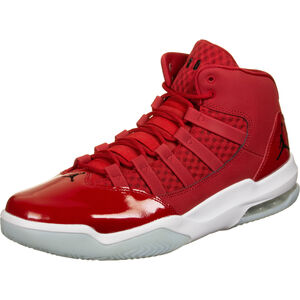 Jordan Max Aura Basketballschuh Herren, rot / weiß, zoom bei OUTFITTER Online