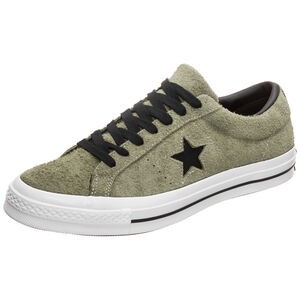One Star OX Sneaker Herren, oliv / schwarz, zoom bei OUTFITTER Online