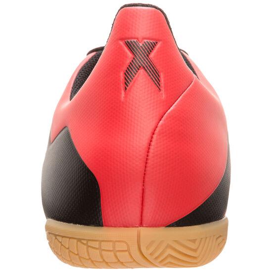 X 18.4 Indoor Fußballschuh Herren, schwarz / rot, zoom bei OUTFITTER Online