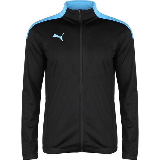 ftblNXT Knit Trainingsjacke Herren, schwarz / blau, zoom bei OUTFITTER Online