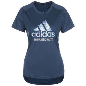 Run For The Ocean Graphic Laufshirt Damen, dunkelblau / hellblau, zoom bei OUTFITTER Online