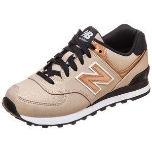 WL574-SFF-B Sneaker Damen, Gold, zoom bei OUTFITTER Online