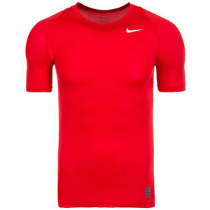 Pro Dry Compression Trainingsshirt Herren, Rot, zoom bei OUTFITTER Online