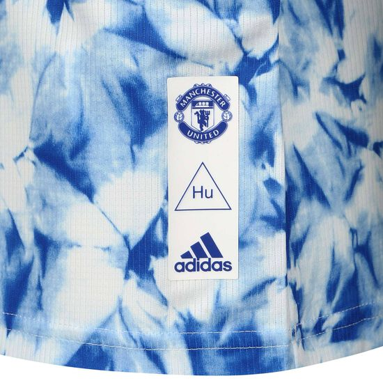Manchester United Human Race FC Trikot Kinder, weiß / blau, zoom bei OUTFITTER Online