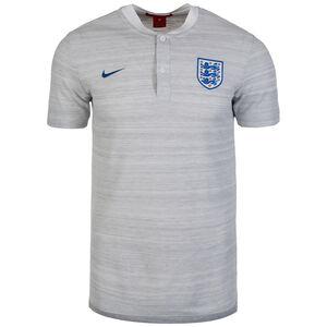England Authentic Poloshirt WM 2018 Herren, grau / blau, zoom bei OUTFITTER Online
