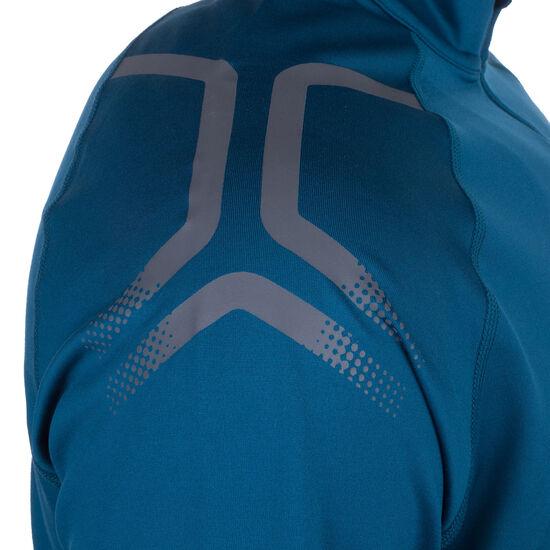 Icon Winter Half-Zip Laufshirt Herren, blau, zoom bei OUTFITTER Online