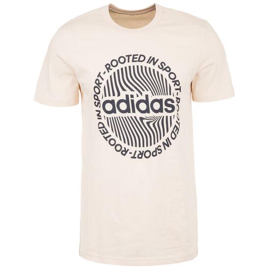 CRCLD Graphic T-Shirt Herren, beige / schwarz, zoom bei OUTFITTER Online