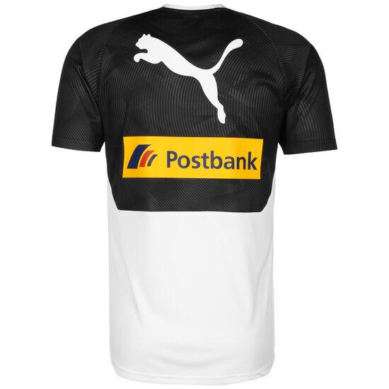 Borussia Mönchengladbach Trainingsshirt Herren, weiß / schwarz, zoom bei OUTFITTER Online