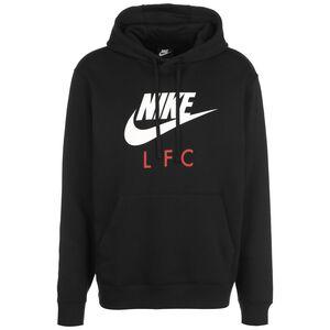 FC Liverpool Club Kapuzenpullover Herren, schwarz / weiß, zoom bei OUTFITTER Online