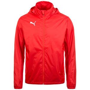 Liga Training Regenjacke Herren, rot / weiß, zoom bei OUTFITTER Online