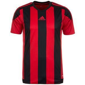 Striped 15 Fußballtrikot Herren, rot / schwarz, zoom bei OUTFITTER Online