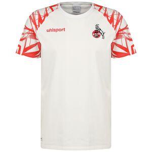 1. FC Köln Goal 24 T-Shirt Herren, weiß / rot, zoom bei OUTFITTER Online