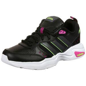 Strutter Sneaker Damen, schwarz / pink, zoom bei OUTFITTER Online