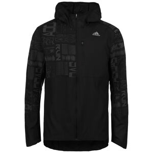 Own The Run Laufjacke Herren, schwarz / grau, zoom bei OUTFITTER Online
