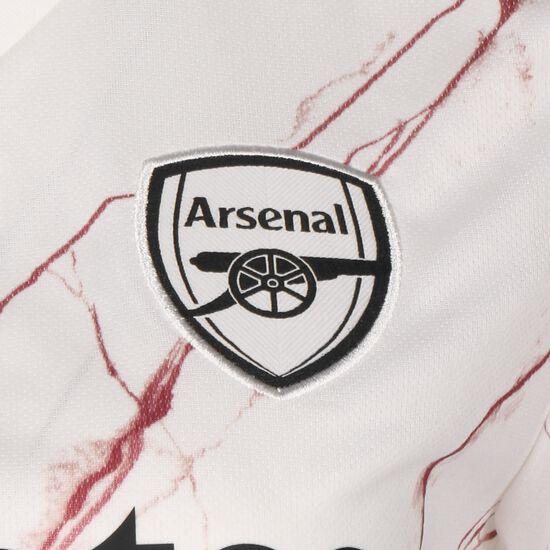 FC Arsenal Trikot Away 2020/2021 Damen, weiß / schwarz, zoom bei OUTFITTER Online