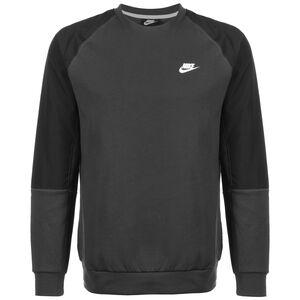Modern Essentials Fleece Sweatshirt Herren, dunkelgrau / schwarz, zoom bei OUTFITTER Online
