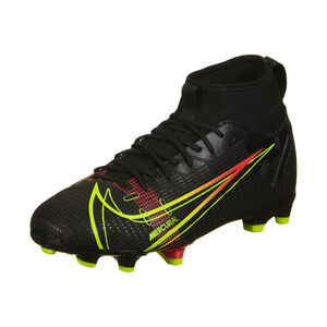 Mercurial Superfly 8 Academy DF MG Fußballschuh Kinder, schwarz / rot, zoom bei OUTFITTER Online