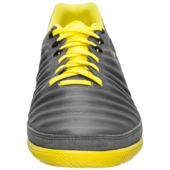 Tiempo LegendX VII Pro Indoor Fußballschuh Herren, dunkelgrau / gelb, zoom bei OUTFITTER Online