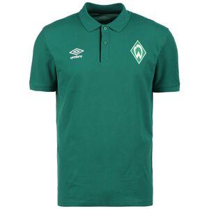 SV Werder Bremen CVC Poloshirt Herren, grün, zoom bei OUTFITTER Online