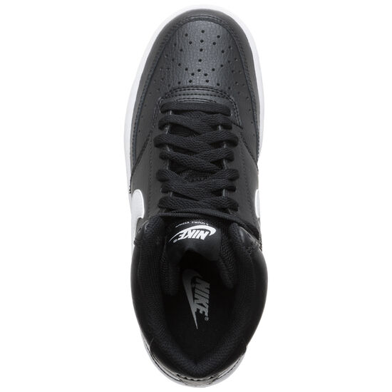 Court Vision Mid Sneaker Damen, schwarz / weiß, zoom bei OUTFITTER Online