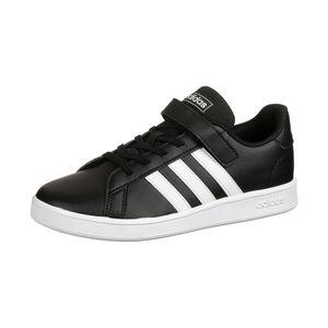 Grand Court Sneaker Kinder, schwarz / weiß, zoom bei OUTFITTER Online