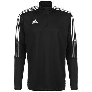 Tiro 21 Trainingssweat Herren, schwarz / weiß, zoom bei OUTFITTER Online
