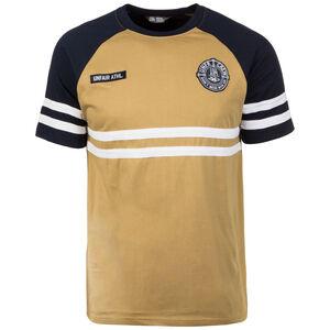 DMWU T-Shirt Herren, braun / dunkelblau, zoom bei OUTFITTER Online