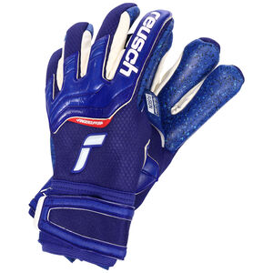 Attrakt Fusion Finger Support Torwarthandschuh, blau / weiß, zoom bei OUTFITTER Online