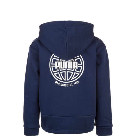 Alpha Graphic Sweatjacke Kinder, dunkelblau, zoom bei OUTFITTER Online