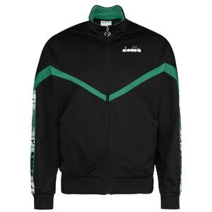 Track Jacket Offside Jacke Herren, schwarz / grün, zoom bei OUTFITTER Online