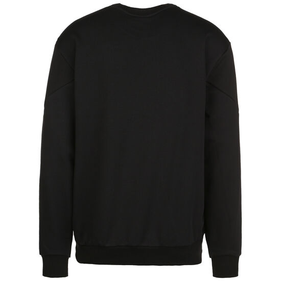 Rebel Crew Small Logo Sweatshirt Herren, schwarz / weiß, zoom bei OUTFITTER Online