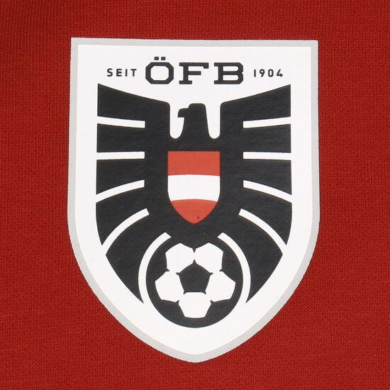 ÖFB Österreich FtblCulture Kapuzenpullover EM 2021 Herren, rot / weiß, zoom bei OUTFITTER Online
