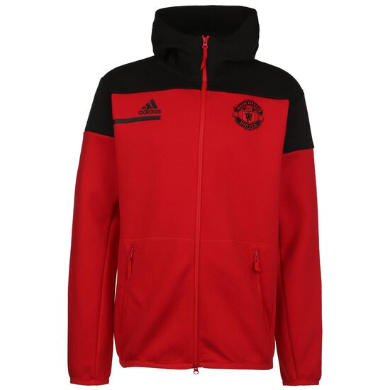 Manchester United  Z.N.E. Kapuzenjacke Herren, rot / schwarz, zoom bei OUTFITTER Online