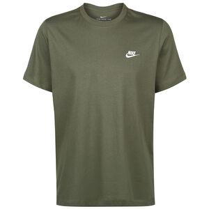Club T-Shirt Herren, dunkelgrün / weiß, zoom bei OUTFITTER Online
