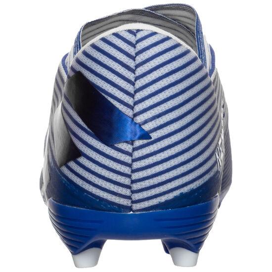 Nemeziz 19.2 FG Fußballschuh Herren, weiß / blau, zoom bei OUTFITTER Online