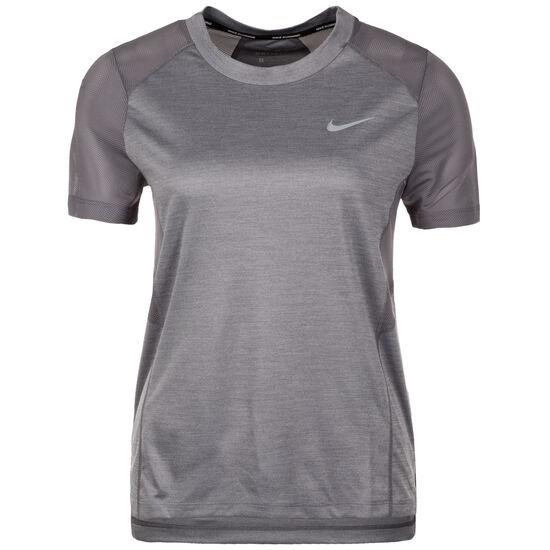 Dry Miler Laufshirt Damen, grau, zoom bei OUTFITTER Online